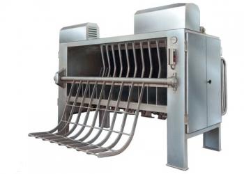 Pigs dehairing machine